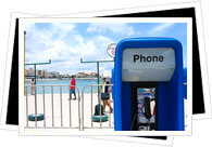 Phonebooth in Mexico beach